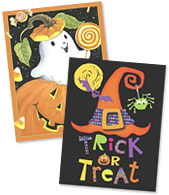 Halloween Note Card Sets