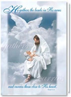 Christian Baptism Cards