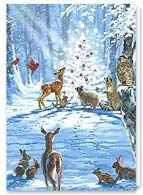 Wildlife Christmas Card | 74261