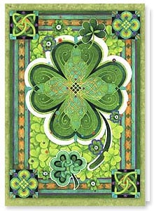 St Patrick's Day Card | 00000