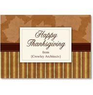 Business Thanksgiving Card #2002794-P