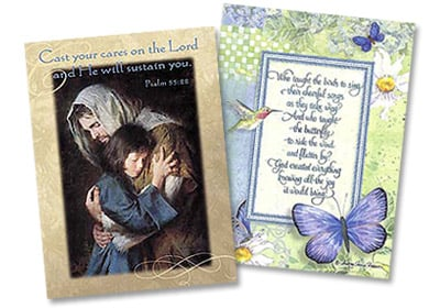 Christian and Religious Cards from LeaninTree.com